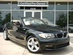 2011 BMW 128i Convertible with 14,802 miles for sale in Charlotte, NC for $36,888 #BMW #Charlotte