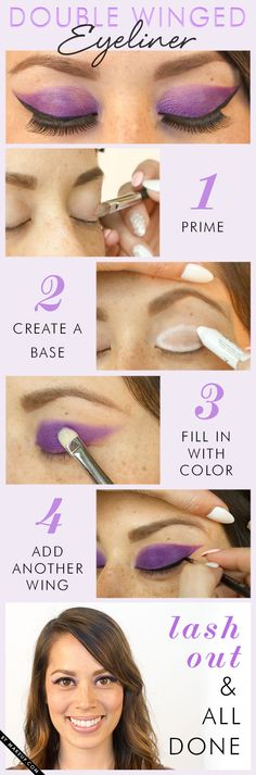 How to do Double Winged Eyeliner