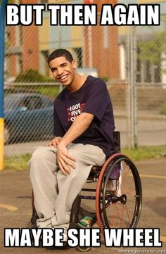 Hilarious. Seriously. If you ever listen to Drake you will get this! #Drizzy #Drake