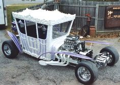 The 1966 Ed Roth-designed Druid Princess is a classic custom car to die for. It comes equipped with its own coffin. Druid Princess was commissioned by ABC for the Addams Family before the show was cancelled and the car was completed afterwards.