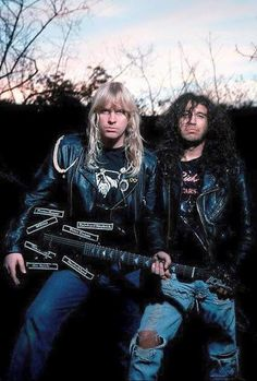 Jeff Hanneman & Tom Araya