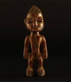 Yoruba Ibeji Figure, Africa #517 | Figures | Artifacts — Deco Art Africa - Decorative African Art - Ethnic Tribal Art - Art Deco