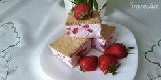 Nepečená jahodovo-tvarohová dobrota (fotorecept) Cake, Pie, Mudpie, Cakes, Torte, Tart, Pies