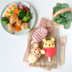 Winnie The Pooh Rice balls (1)