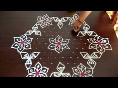 hi friends today video is Sankranthi muggulu / colour chukkala muggu / rangoli designs / dhanurmasam kolam design 2019 . muggulu small muggulu with dots. Rangoli Designs Simple Diwali, Rangoli Designs Latest, Rangoli Designs Flower, Free Hand Rangoli Design, Rangoli Border Designs, Small Rangoli Design, Rangoli Designs With Dots, Rangoli With Dots, Beautiful Rangoli Designs
