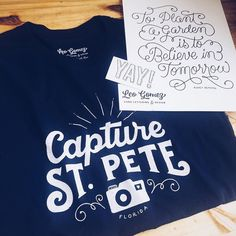 Every #capturestpete t-shirt is packaged by hand and comes with a free special gift! This one is going out all the way to Arizona!!  Thank you Becki! @azhippiechick2 Grab yours today!!! #stpete #stpetersburgfl #stpetian #igersstpete #dtsp #photographer #stpetephotographer #igerstampa #ilovetheburg #keepstpetelocal