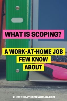 Did you know that you can work from home as a scopist? Not sure what scoping is? Here's the inside scoop from industry expert, Linda Evensong and how you can get started!