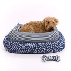 PAIGE for Mungo & Maud Bolster Dog Bed