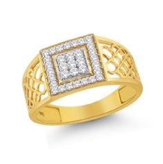 Kader Diamond Ring Made in Real Diamond and 18kt Gold.Customize As per your Style and budget.Get Exact Diamond Quality and weight.