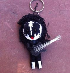 6$ Kiss Rock band doll of string ,  Hey, I found this really awesome Etsy listing at https://www.etsy.com/listing/177312071/kiss-metal-guitar-goth-rock-music-voodoo