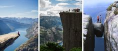 Trolltunga, Pulpit Rock and Kjerag - three spectacular hikes in three days | Tide Reiser