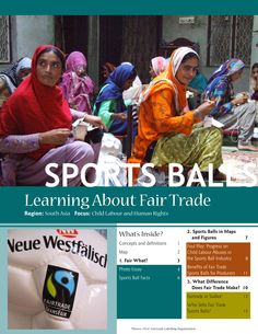 Learn about Fair Trade Sports Balls