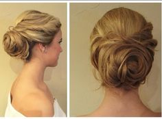 Rose inspired updo by Ariel Katrina