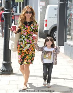 Myleene Klass out and about with her daughters Ava and Hero photo gallery Celebrities Fashion, Daughters, Ava, Photo Galleries, Celebrity Style, Hero, Events, Actors, Pictures
