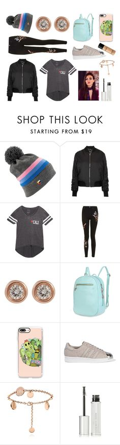 """Bus trip to the Ball"" by hailey-smith-13 ❤ liked on Polyvore featuring Coal, Topshop, Wet Seal, Ron Hami, Casetify, adidas Originals, Givenchy and Bare Escentuals"
