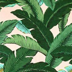 Rosa & Grün tropische Palmen dekorative Designer decken Akzent Kissen Modern floral Palmenblätter Beverly Hills Martinique Bananenblatt