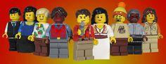 Firefly Legos!