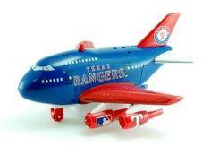 Texas Rangers Plane - 2012