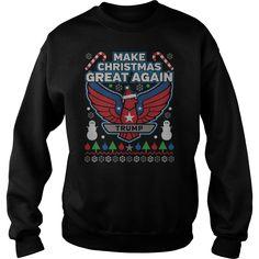 Donald Trump Make Christmas Great Again SweatShirt 2016