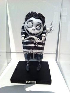Tim Burton sculptural art