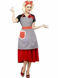 50's Kostuum, Huisvrouw