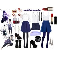 """Casual Cosplay - Uchiha Sasuke"" by casual-cosplay on Polyvore"