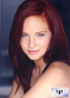 Candice Accola again but as a red head :)