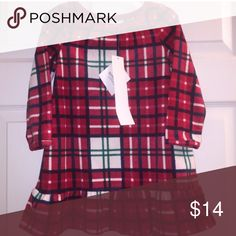 NWT Gymboree Plaid Dress Perfect for fall winter picture day or holiday! Brand New couple of sizes. Gymboree Dresses Casual