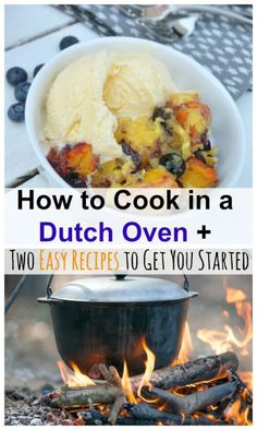How to Cook in a Dutch Oven + Two Recipes to Get You Started | eBay-- Specifics that every beginner needs to know!