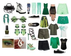"""steven universe - peridot (2)"" by paint-splat ❤ liked on Polyvore featuring Paul & Joe Sister, Balmain, Uniqlo, Yumi, rag & bone, French Connection, Vanessa Gounden, H&M, Vans and Converse"