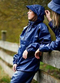 Blue Raincoat, Rain Suit, Plastic Pants, Rain Wear, Vinyls, Farmers, Fashion Photo, Rain Jacket, Windbreaker