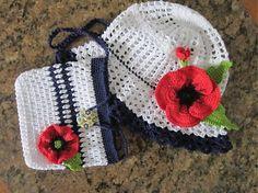 klobuk makovy +kabeločka
