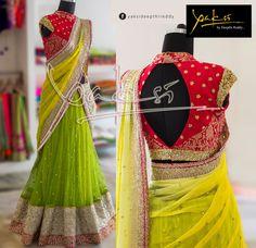 Half saree by yakshi