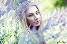 Angelika by Julia Dresch. #model #female #girl #woman #lady #blonde #beauty #fashion #portrait #nature #natural #lavender #elf #elfish #fairy #fae #fairytale #juliadresch