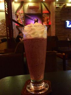 Blueberry chiller smoothy!
