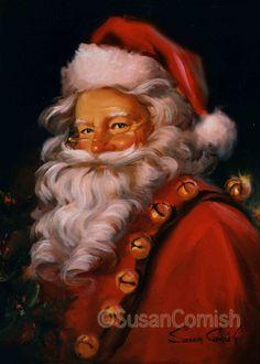 Susan Comish Christmas Art Gallery   Original Quality Christmas Prints