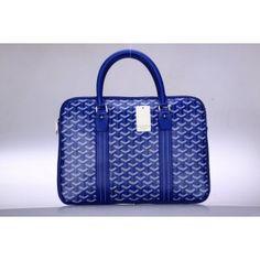 Sac à Main Goyard GY006 Bleu 1.Marque  : goyard 2.Style  : Sac à Main Goyard 3.couleurs :Bleu 4.Matériel :PVC avec cuir 5.Taille: w37 x H26x d4.4 cm