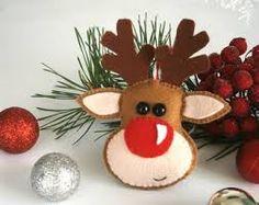 Resultado de imagen para christmas felt ornaments