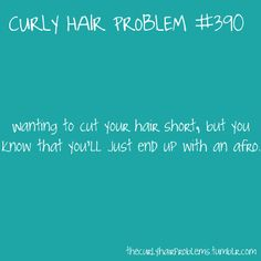 Yes, which is why I need to stop looking at all the short hair styles on pinterest!