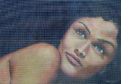 "Saatchi Art Artist Cetin Pireci; Painting, ""naked eye"" #art"