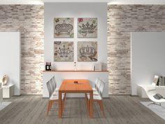 Obraz na płótnie - ANGLIA VINTAGE - 80x80 w VAKU-DSGN na DaWanda.com