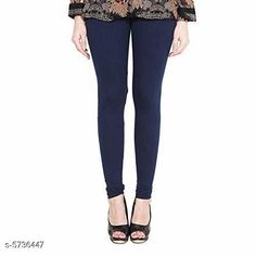 Leggings & Tights  Ravishing Trendy Women Leggings Fabric: Viscose Rayon Pattern: Solid Multipack: 1 Sizes:  Free Size (Waist Size: 28 in Length Size: 34 in)  Country of Origin: India Sizes Available: 50, 28, 30, 32, 34, 36, 38, 40, 42, 44, 46, 48   Catalog Rating: ★4 (494)  Catalog Name: Ravishing Trendy Women Leggings CatalogID_861988 C79-SC1035 Code: 083-5736447-