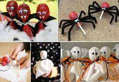 Lollipop Halloween treats