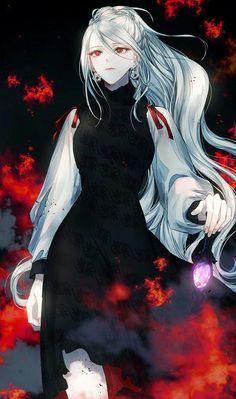 Manga Anime Girl, Cool Anime Girl, Anime Girl Drawings, Beautiful Anime Girl, Kawaii Anime Girl, Anime Guys, Dark Anime, Anime Angel, Fantasy Characters