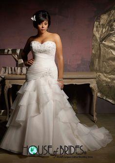 House of Brides - Julietta by Mori Lee - Wedding Dress - Plus Size - STYLE - 3122