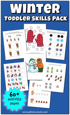 Gift of Curiosity - Sparking children's creativity and learning Winter Activities For Kids, Science Activities For Kids, Sorting Activities, Motor Activities, Toddler Activities, Preschool Ideas, Early Math, Early Learning, Fun Learning