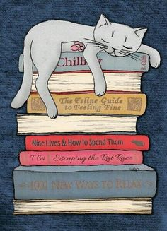 Draw Cats How to Chill Like a Cat Art Print. by Micklyn - Like A Cat, I Love Cats, Cute Cats, Funny Cats, Crazy Cat Lady, Crazy Cats, Cat Art Print, Cat Drawing, Drawings Of Cats