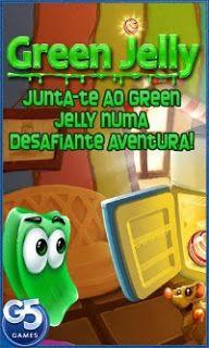 Jogo Green Jelly para celular Android