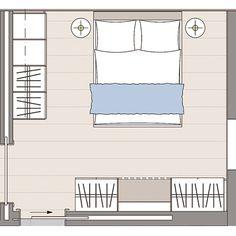 Das Elternschlafzimmer im WOHNIDEE-Haus 2014