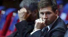 Leo Messi anuncia que vai apresentar recurso para o Supremo